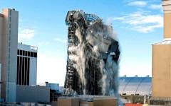 Aplauden demolición de casino de Trump en Atlantic City.