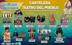 Encabezan Alemán y Lalo Mora actuaciones en La Feria de Rosarito